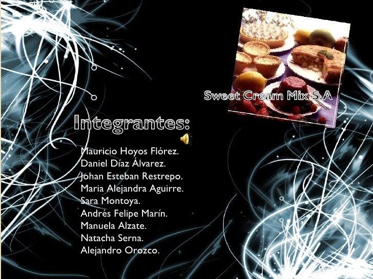 Mauricio Hoyos Flórez. Daniel Díaz Álvarez. Johan Esteban Restrepo. Maria Alejandra Aguirre. Sara Montoya. Andrés Felipe M...