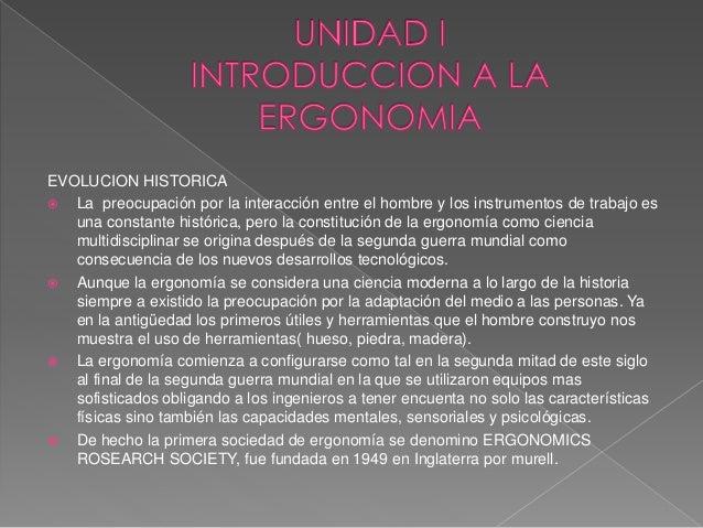 Diapositivas ergonomia metodos for Caracteristicas de la ergonomia