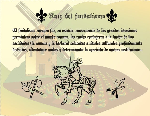 Diapositivas feudalismo Slide 3