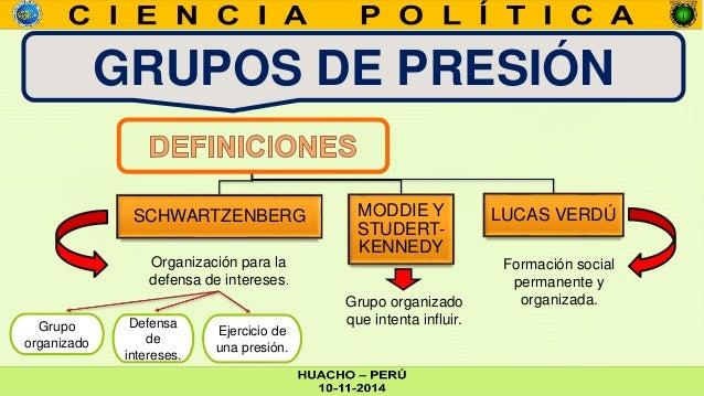 grupos de presi n y lobbyst