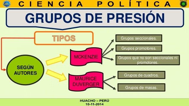 Grupos de presi n y lobbyst - Grupo de presion ...