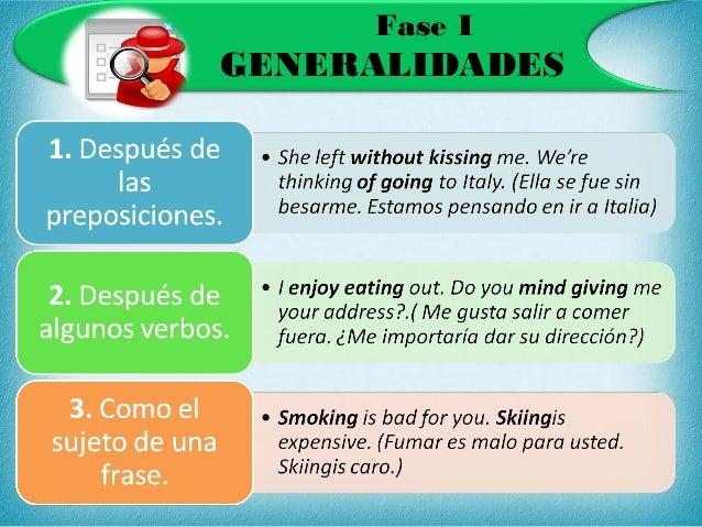 Ejemplos De Verbos En Gerundio En Ingles Colección De Ejemplo