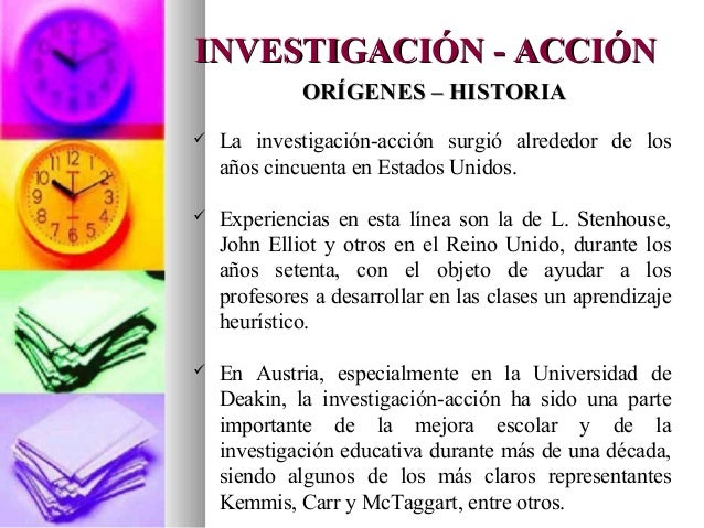Diapositivas investigacion accion for La accion educativa en el exterior