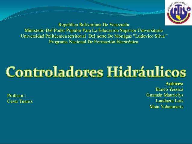 Autores:Banco YessicaGuzmán MaurielysLandaeta LuisMata YohanmerisProfesor :Cesar TuarezRepublica Bolivariana De VenezuelaM...
