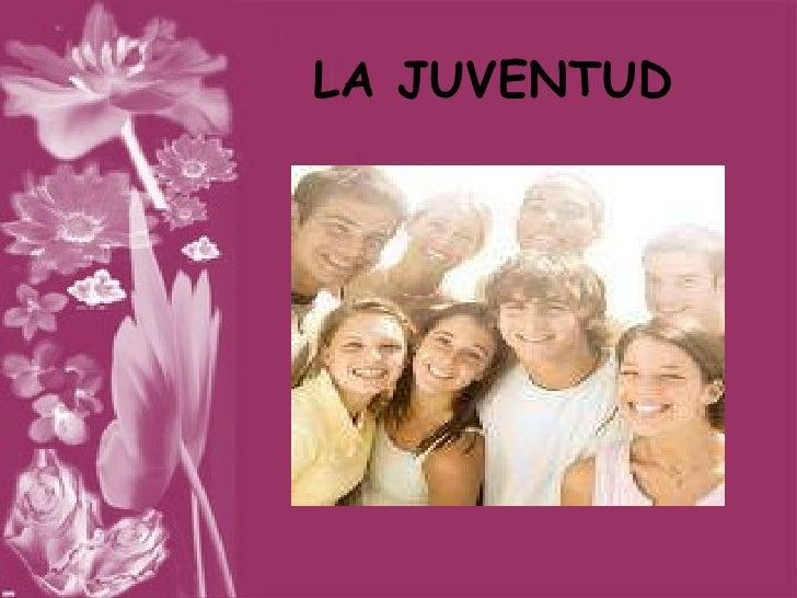 Diapositivas Juventud