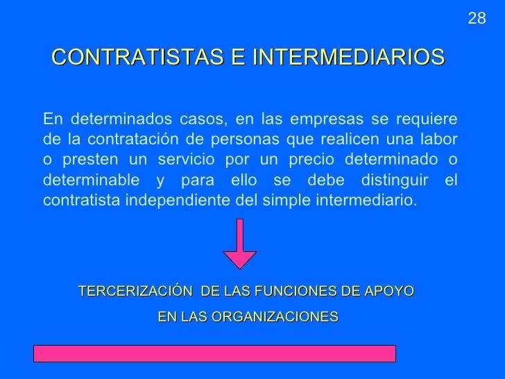 Diapositivas leg laboral - Que es un contratista ...