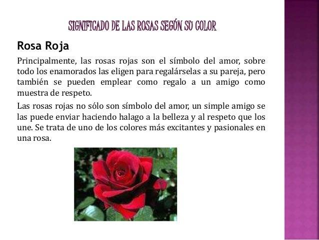 Diapositivas La Rosa Roja