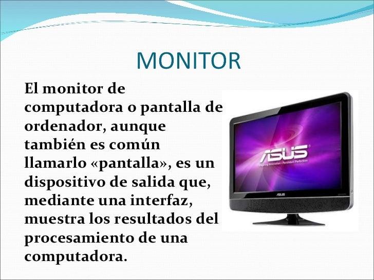 Diapositivas las partes del computador