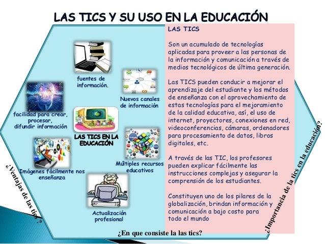 LAS TICS Son un acumulado de tecnologías aplicadas para proveer a las personas de la información y comunicación a través d...