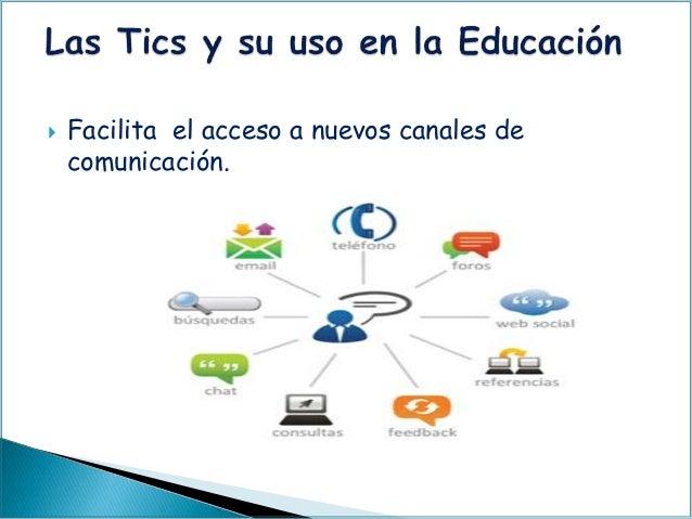  Facilita el acceso a nuevos canales de comunicación.