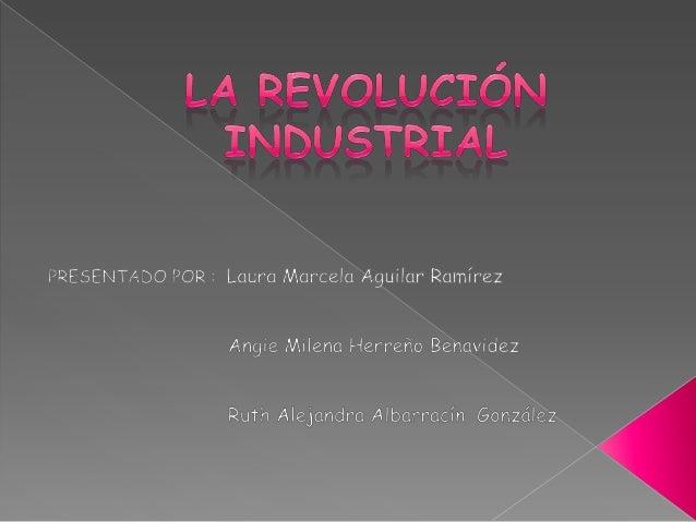 La expresión o termino Revolución Industrial fue difundida a partir del año 1845, por el comunista Federico Engels uno de ...
