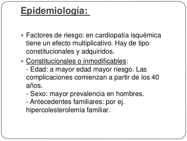Patogenia  Hipótesis de la respuesta a la lesión: respuesta inflamatoria y cicatricial de la pared arterial ante la lesió...