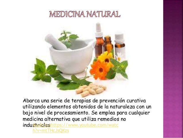 Diapositivas medicina natural