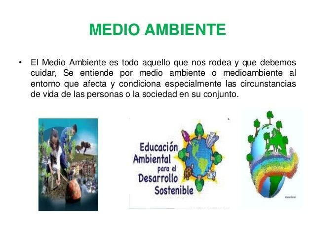 Dibujos Del Cuidado Del Medio Ambiente Finest Publicado: Diapositivas Medio Ambiente