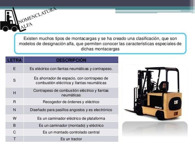 Diapositivas montacargas - Precios montacargas para personas ...