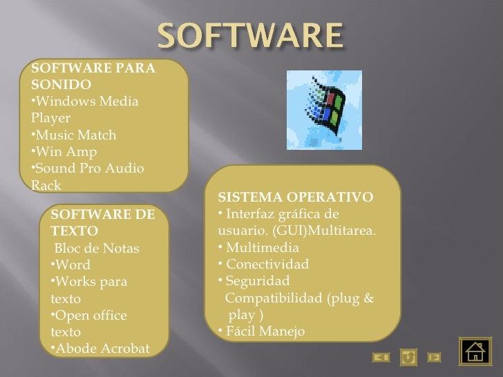 <ul><li>SISTEMA OPERATIVO </li></ul><ul><li>Interfaz gráfica de  usuario. (GUI)Multitarea. </li></ul><ul><li>Multimedia </...