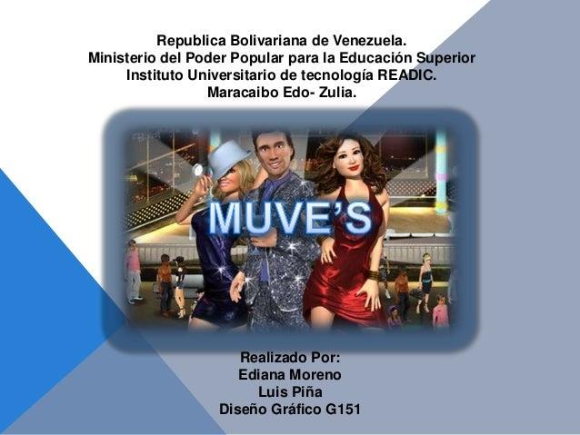 Republica Bolivariana de Venezuela. Ministerio del Poder Popular para la Educación Superior Instituto Universitario de tec...