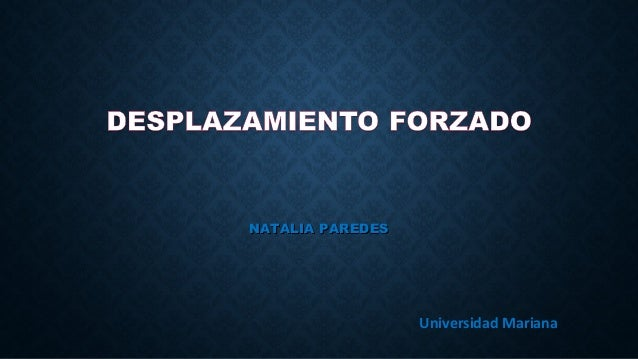 NATALIA PAREDESNATALIA PAREDES Universidad Mariana