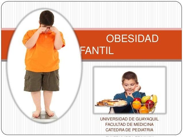 OBESIDAD INFANTIL  UNIVERSIDAD DE GUAYAQUIL FACULTAD DE MEDICINA CATEDRA DE PEDIATRIA
