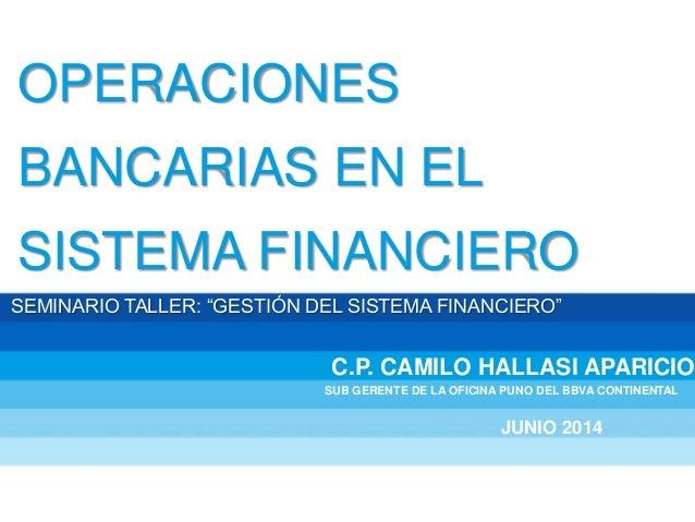 Diapositivas operaciones bancarias 1 for Buscador oficinas bancarias