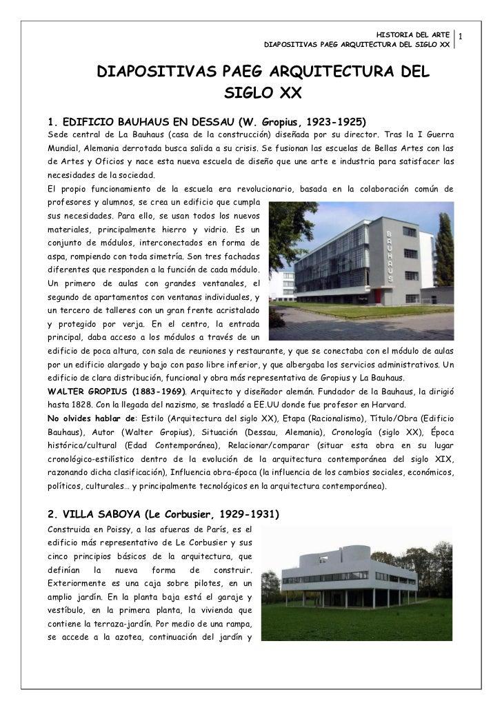 Diapositivas paeg arquitectura del siglo xx for Arquitectura del siglo 20