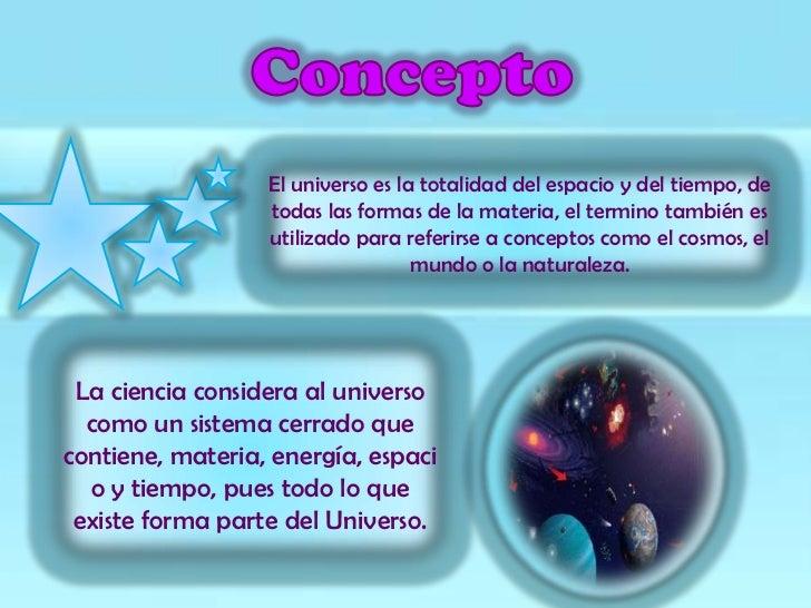 El universo Slide 3