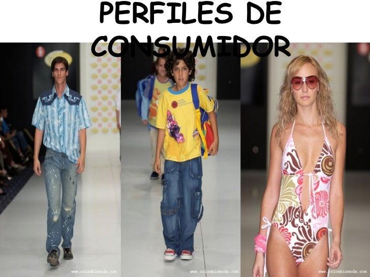 PERFILES DE CONSUMIDOR