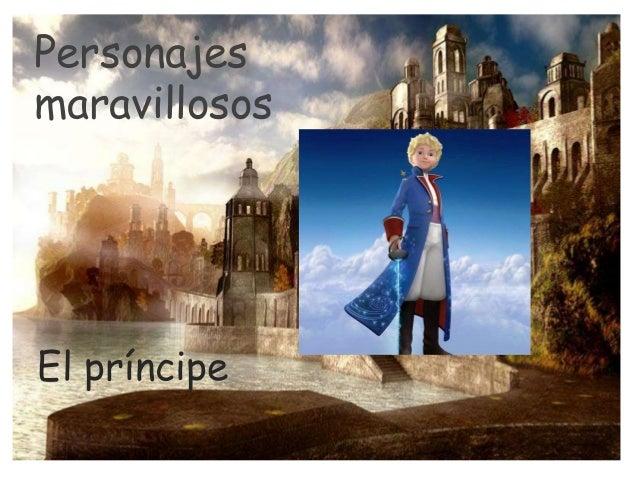 Personajes maravillosos El príncipe