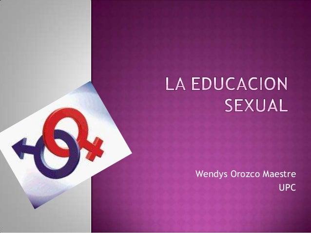 Wendys Orozco Maestre                 UPC