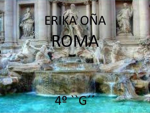 ERIKA OÑAROMA4º ``G´´