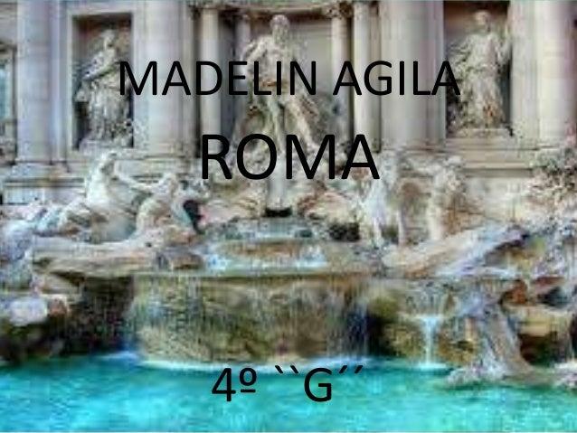MADELIN AGILAROMA4º ``G´´