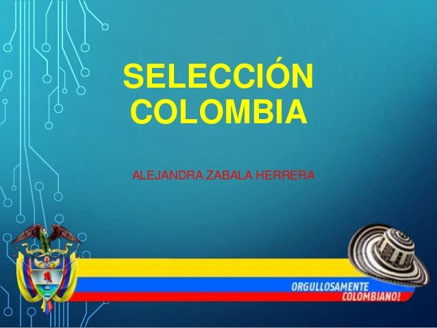 SELECCIÓN  COLOMBIA  ALEJANDRA ZABALA HERRERA