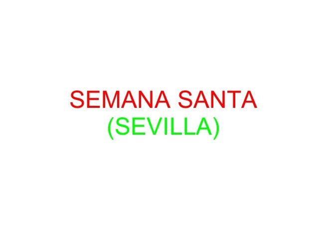 SEMANA SANTA  (SEVILLA)