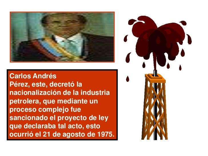 Diapositivas sobre contenido de Historia de Venezuela