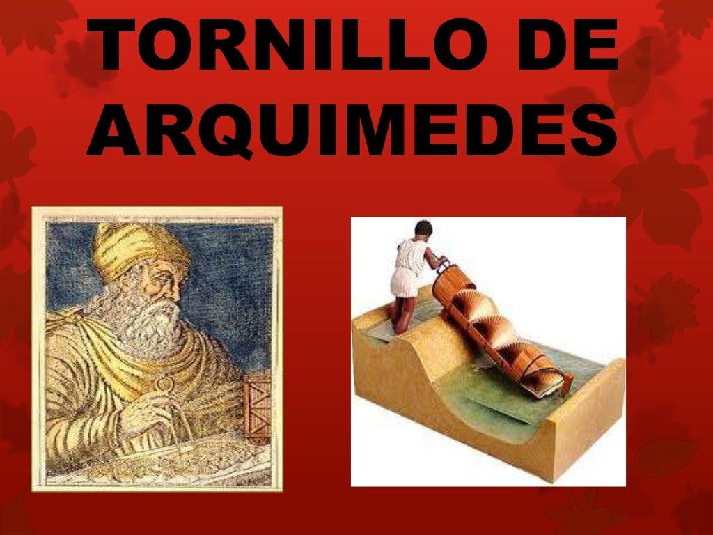 TORNILLO DEARQUIMEDES