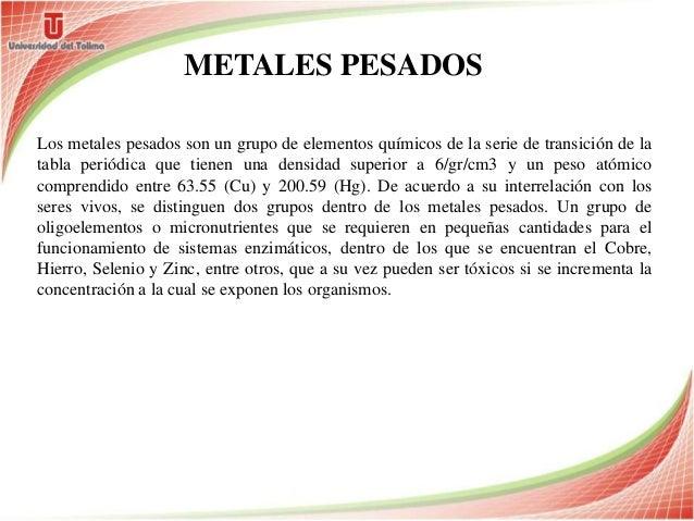 Diapositivas toxicologia metales urtaz Image collections