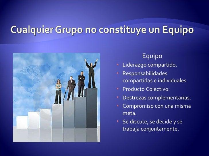 Diapositivas Trabajo En Equipo