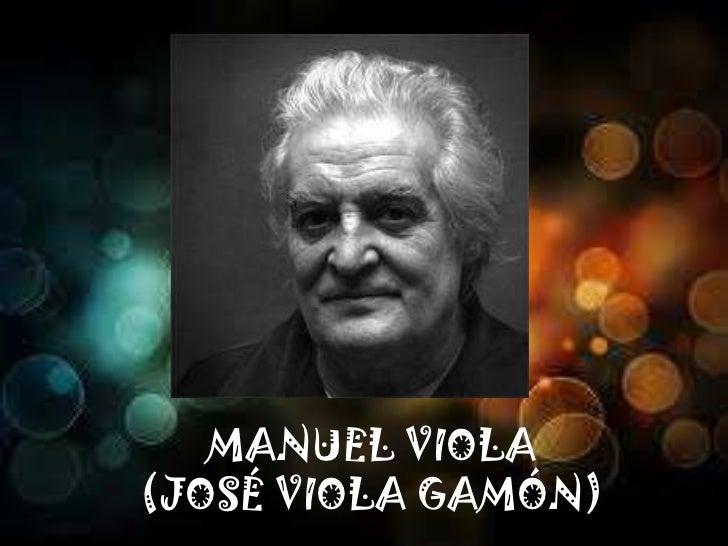 MANUEL VIOLA(JOSÉ VIOLA GAMÓN)