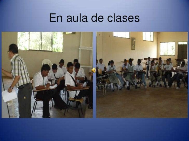 En aula de clases<br />