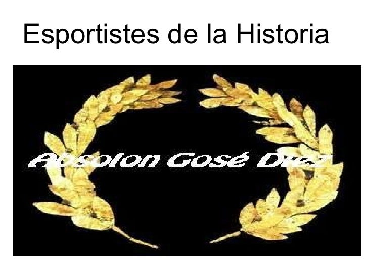 Esportistes de la Historia