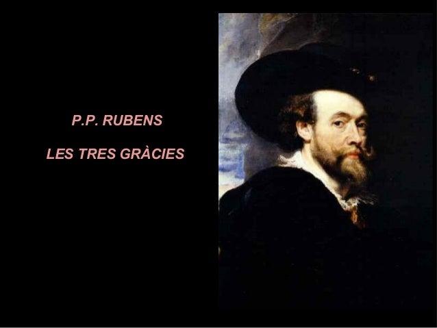 P.P. RUBENS LES TRES GRÀCIES