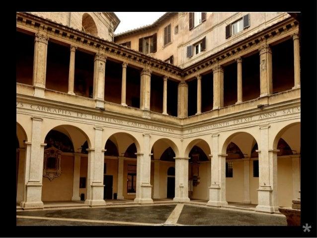 Diapositives san pietro in montorio arquitectura cinquecento for Arquitectura quattrocento y cinquecento