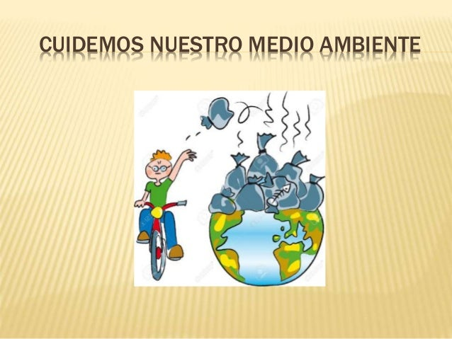 No ala contaminacion ambiental