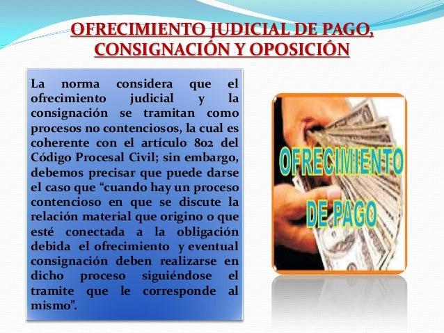 Diapos pagos de interes y pagos por consignaci n for Que es un proceso extrajudicial