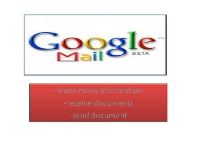 -share many information -receive documents -send document