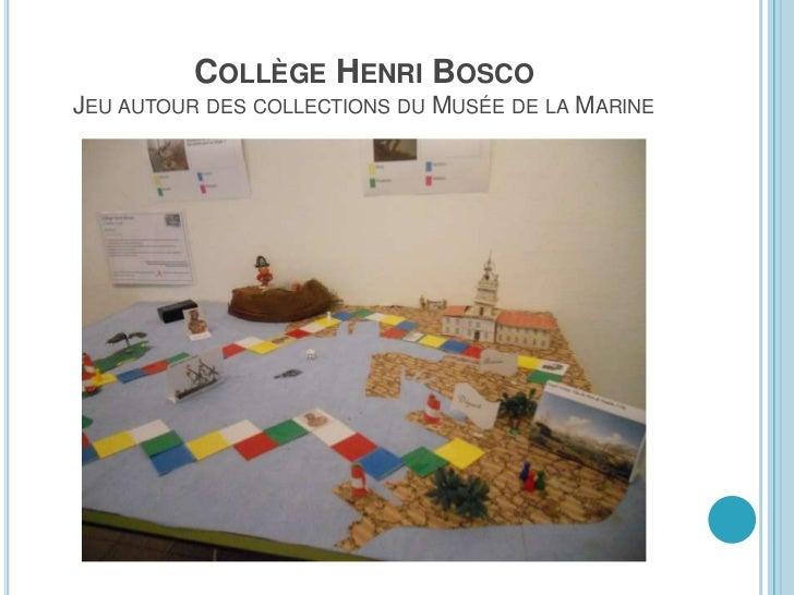 COLLÈGE HENRI BOSCO