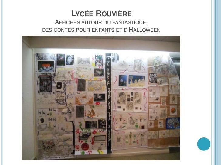 LYCÉE DUMONT-D'URVILLE A LA MANIÈRE DE NARDI /PORTS D'ICI ET D'AILLEURS /     ECLATS DE LIRE