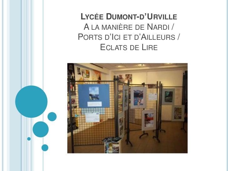 LYCÉE DUMONT-D'URVILLE