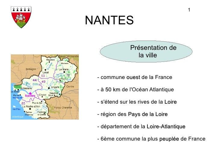 La ville de Nantes
