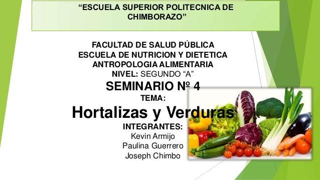 """""""ESCUELA SUPERIOR POLITECNICA DE CHIMBORAZO""""  FACULTAD DE SALUD PÚBLICA ESCUELA DE NUTRICION Y DIETETICA ANTROPOLOGIA ALIM..."""